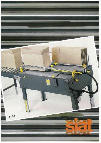 F104 - Manual case erector