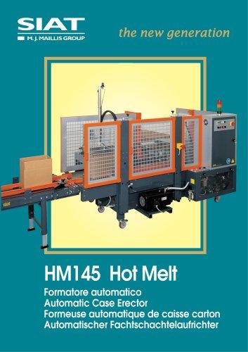 HM145 Automatic Hor melt case erector