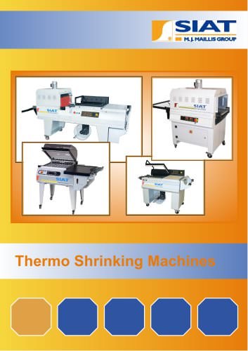 L-Sealers thermo shrinking machines range