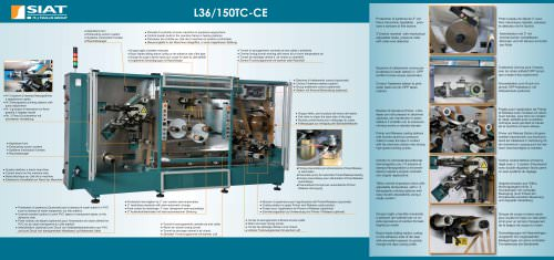 L36 - 3 Colors Flexographic printer with corona treatment