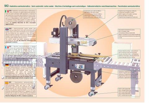 SK2 - Semi-automatic carton sealer
