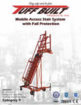 Mobile Access Stair System with Fall Protection