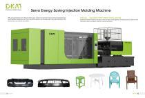 DKM Servo Injection Molding Machine