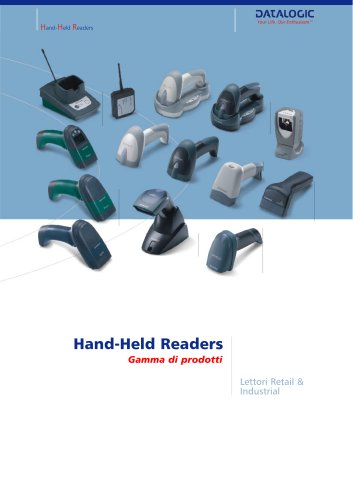 Hand Held Readers - Lettori retail e industrial