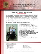Small Bell Jar Arc Melt Furnace MODEL ABJ - 338