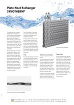 Plate Heat Exchanger SYNOTHERM®