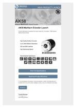AK58  ABSOLUTE MULTITURN ROTARY ENCODER