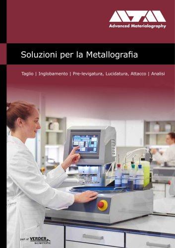 Soluzioni per la Metallografia