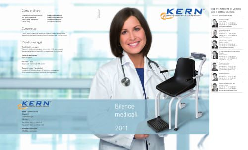 Catalogo Bilance medicali 2011