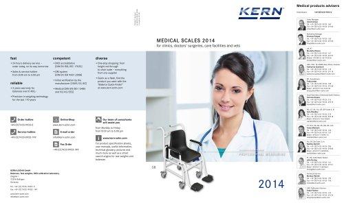 KERN Medical Scales 2014
