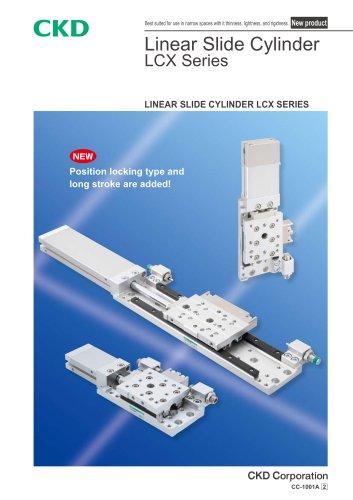 Linear slide cylinder LCX