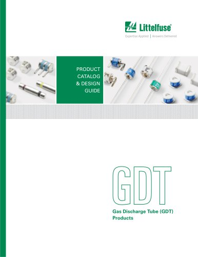 Littelfuse Gas Discharge Tube Product Catalog