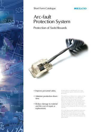 Littelfuse Selco Arc Detection Catalog