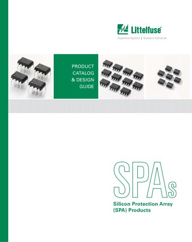 Littelfuse Silicon Protection Array Catalog