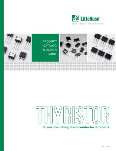 Littelfuse Thyristor Catalog