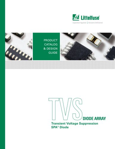 Littelfuse Transient Voltage Suppression (SPA® Diode) Products Catalog