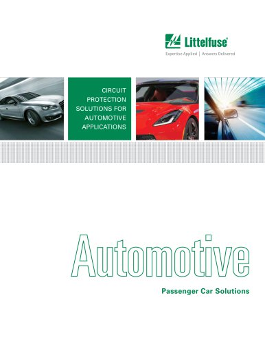 Passenger Car Solutions