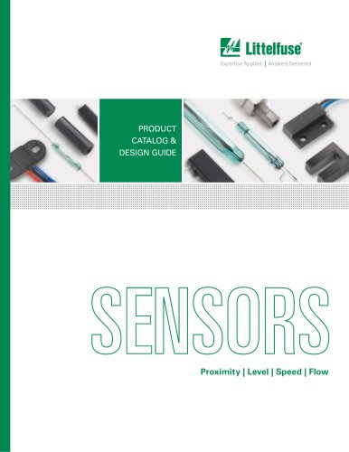 Sensors Products Catalog