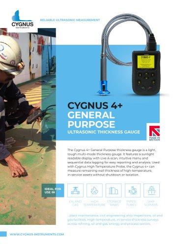 Cygnus 4+ General Purpose Ultrasonic Thickness Gauge