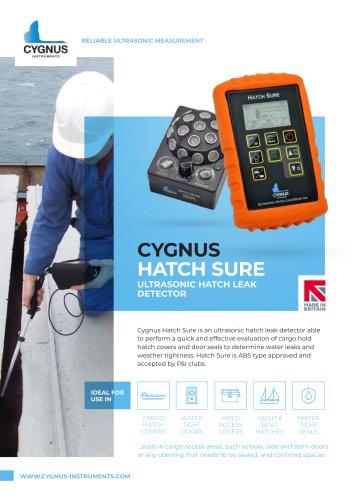 Cygnus Hatch Sure Ultrasonic Leak Detector