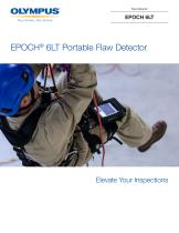 EPOCH 6LT for Rope Access Inspections