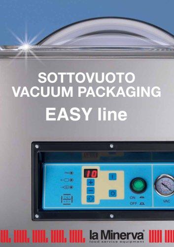 Vacuum packaging machines  EASY line  PACK 250