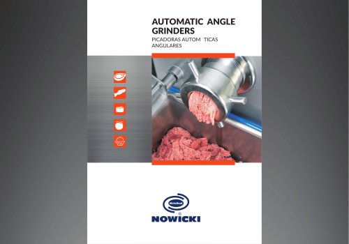 AUTOMATIC ANGLE GRINDERS