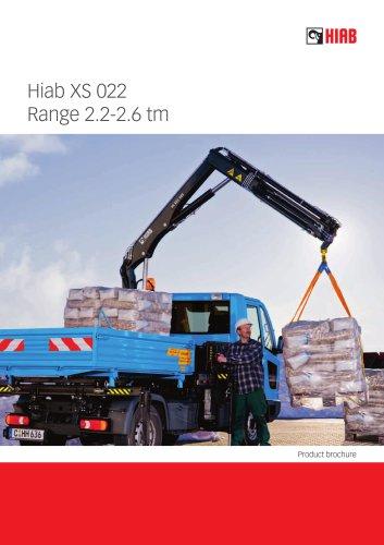 HIAB XS 022 CLX