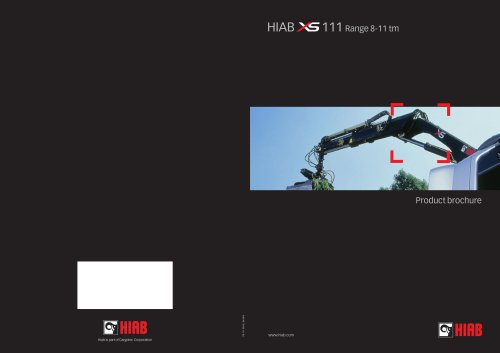HIAB XS 111 Brochure