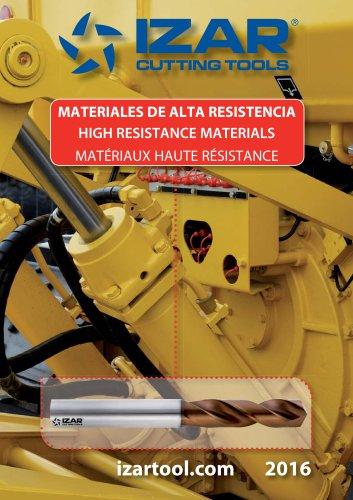 HIGH RESISTANCE MATERIALS
