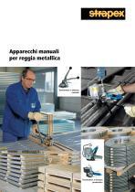 Tendireggia manuali per reggia metallica