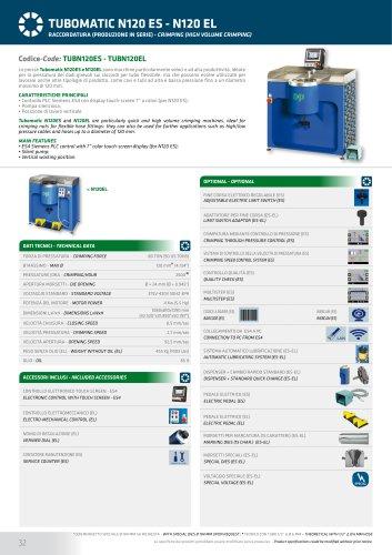 TUBOMATIC N120 EL
