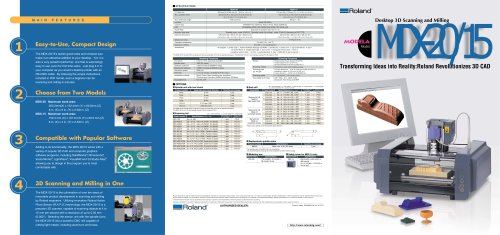 3D Scanners MDX-20