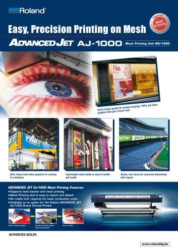 Brochure: MU-1000
