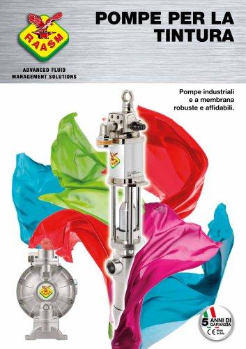 Pompe tintura industriale