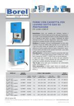 Forni con cassetta per lavoro sotto gas di protezione - FP 1100-1200-P