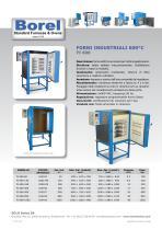 Forni industriali 600 °C - FI 600
