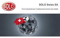 Presentazione SOLO Swiss Group. Forni industriali per il trattamento termico dei metalli.