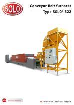 SOLO Swiss 322 SOLO®Conveyor Belt Furnace