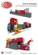 SOLO Swiss Forni in Atmosfera per il Trattamento Termico dei Metalli