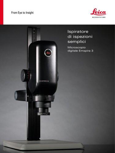 Ispiratore di ispezioni semplici - Microscopio digitale Emspira 3