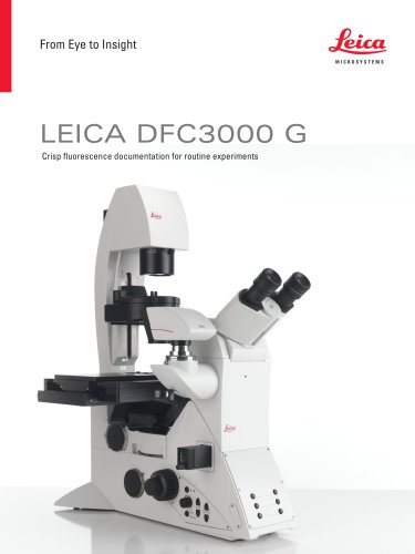 Leica DFC3000 G