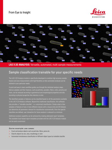 Leica LAS X Materials Science Modules
