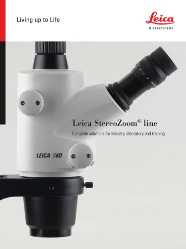 Leica StereoZoom line