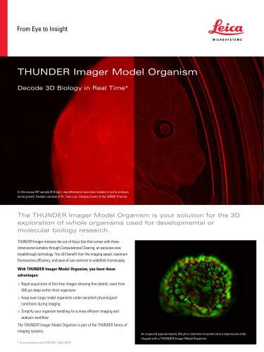 THUNDER Imager Model Organism
