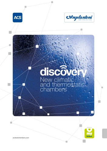 Discovery My - T and RH test chambers