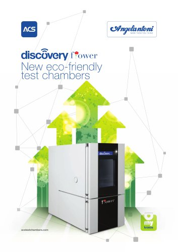 Flower®, the new eco-friendly test chamber