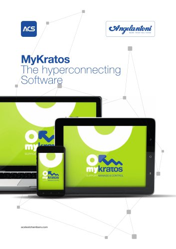 MyKratos®, the hyperconnecting software
