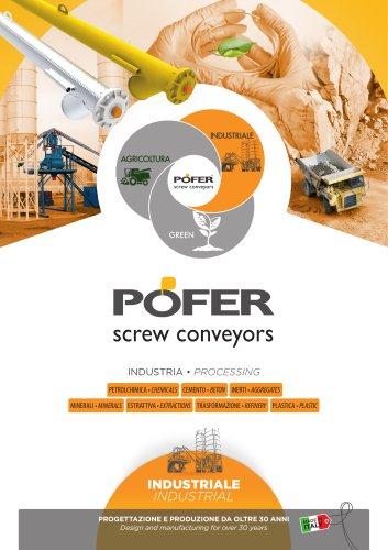 Industrials Screw Conveyors