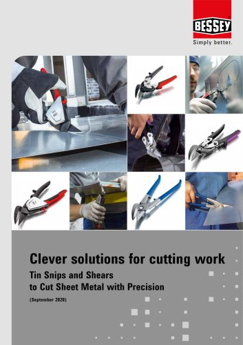 Clever solutions for cutting work